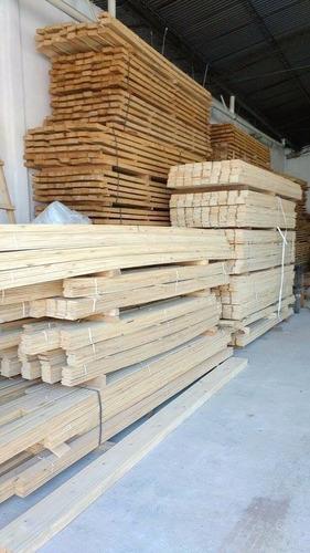 maderas, tirantes, machimbres y todo para su techo
