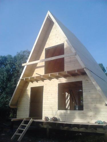 maderera y viviendas la victoria  cabaña  alpina  permuta