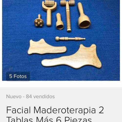 maderoterapia facial y corporal