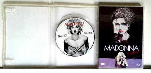 madonna 2 dvds originais lacrado