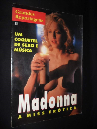 madonna - a miss erótica - grandes reportagens
