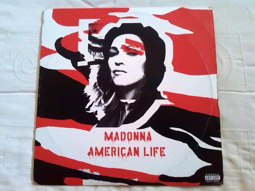 madonna american life single vinyl lp vinilo sellado