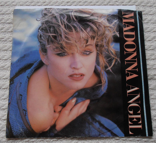 madonna - angel (single 7'' 1ra. ed. u s a 1984)