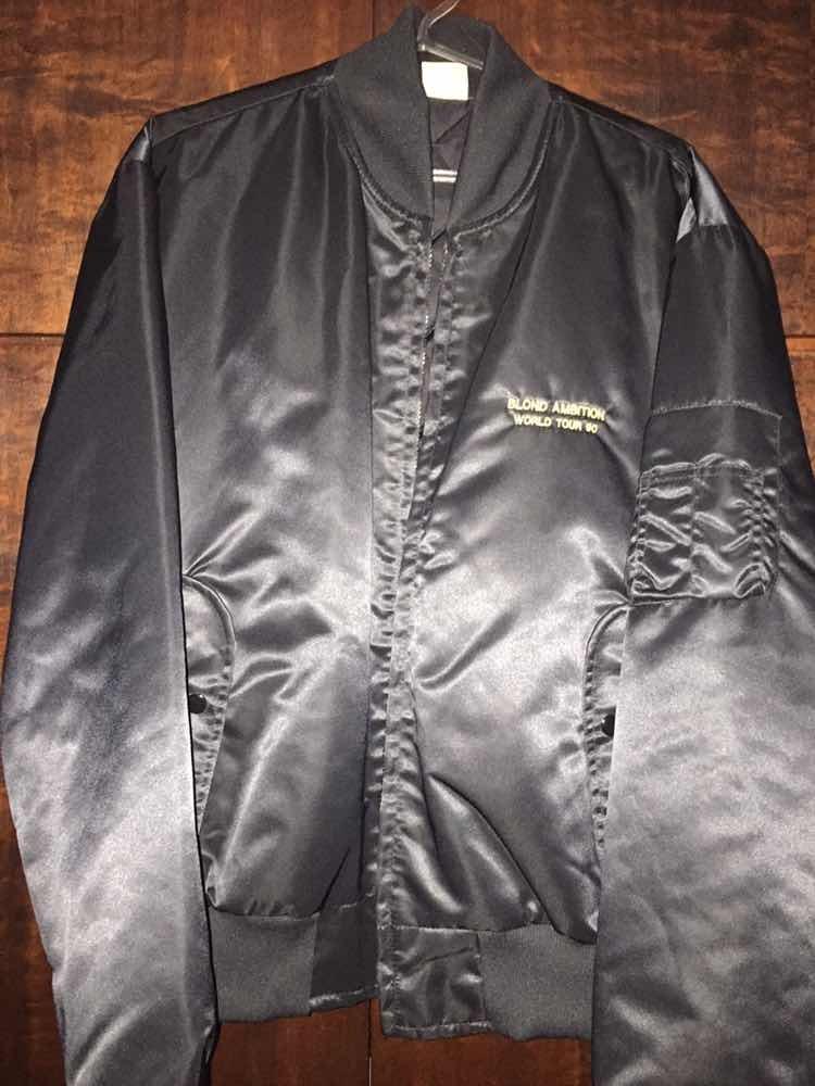 madonna blond ambition tour jaqueta oficial 1990 xg. Carregando zoom. 7f91b0f5cd31c