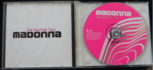 madonna cd single die another day britney spears cher thalia