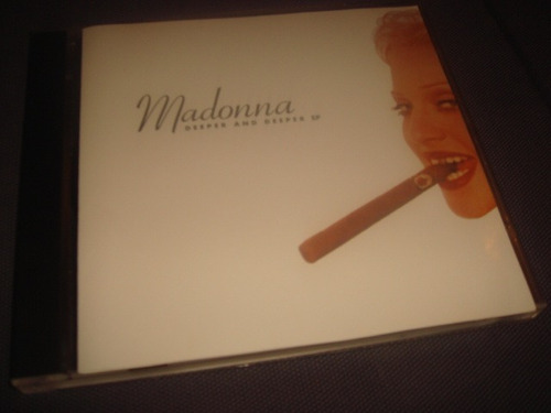 madonna deeper and deeper 12 tracks japan ep