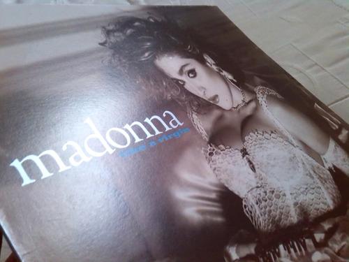 madonna discos de vinil edicion venezuela perfecto estado lp