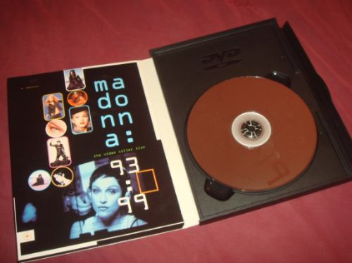 madonna dvd digipack