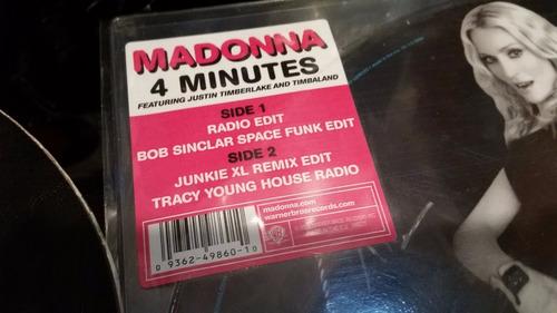 madonna feat justin timberlake 4 minutes vinilo picture uk