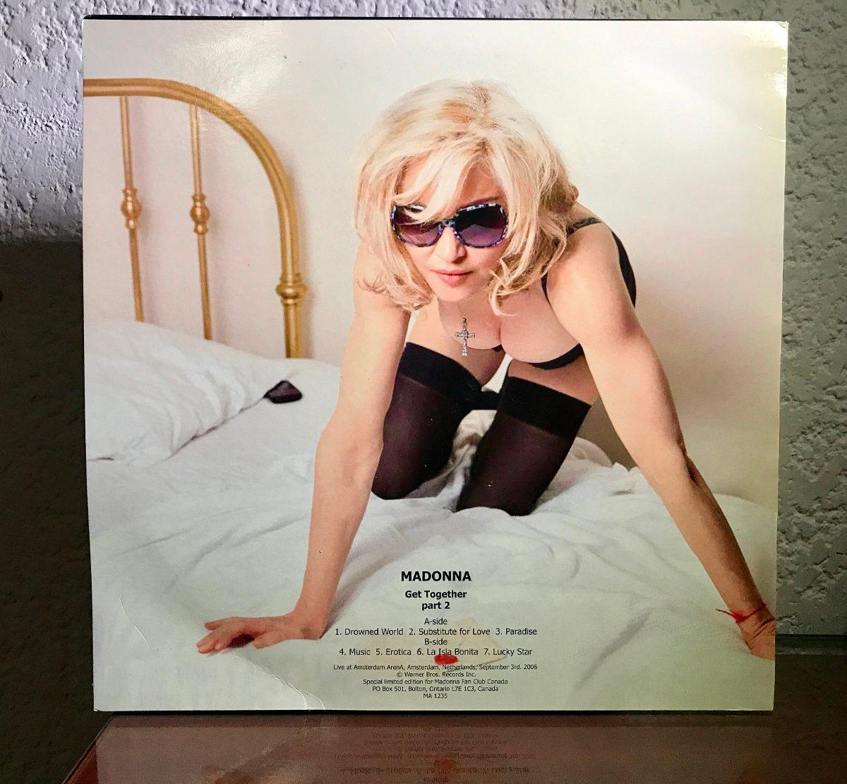 Madonna Get Together Vinyl Edicion Especial Limitada