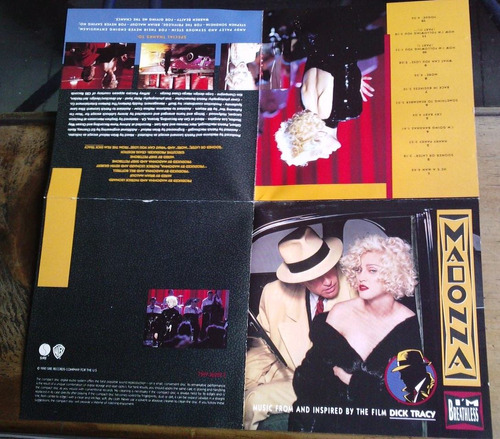 madonna i m breathless dick t cd aleman c/booklet 1a ed 1990