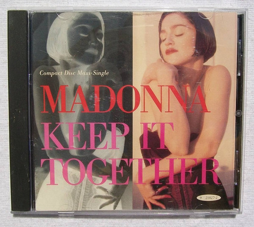 madonna. keep it together. cd maxi-single sire 1990 usa