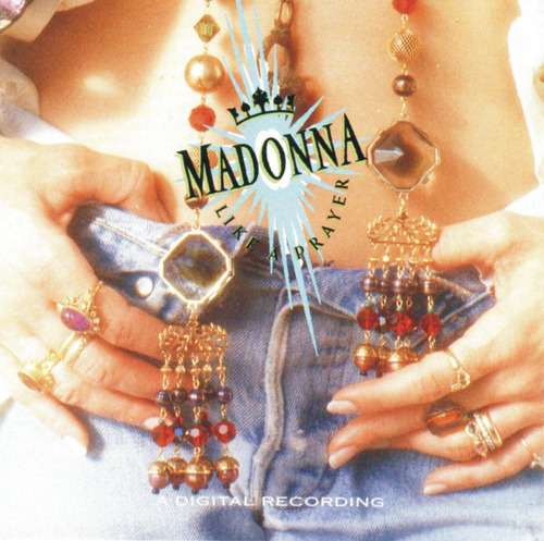 madonna - like a prayer. cassette primera edicion chile.
