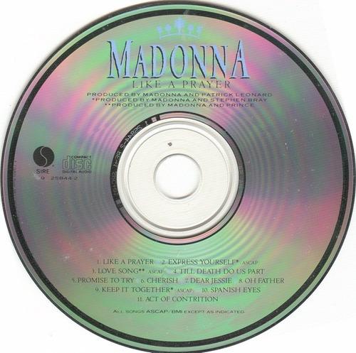 madonna - like a prayer cd (yosif andrey)