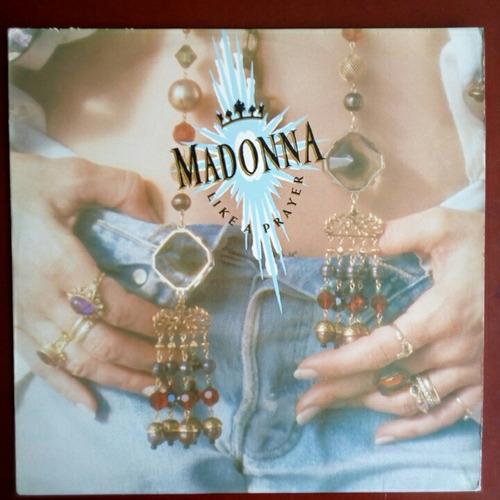 madonna - like a prayer - lp