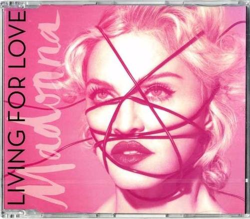 madonna - living for love cd single (importación)
