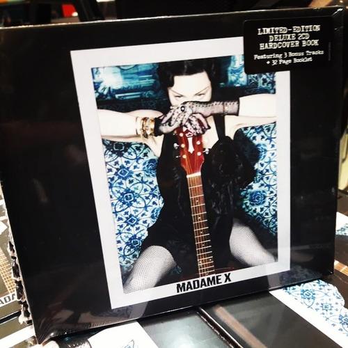 madonna madame x deluxe 2 cd en stock !!! nuevo