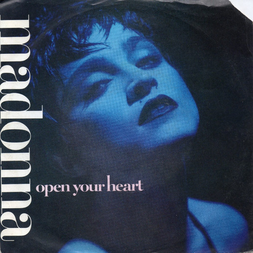 madonna open your heart 45 popsike