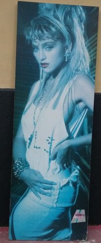 madonna - poster medindo 1,54x0,52cm