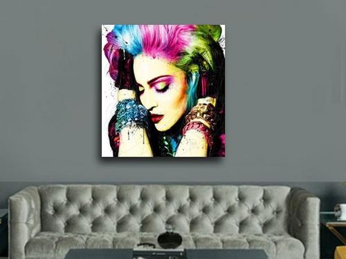 madonna quadro pop art grande