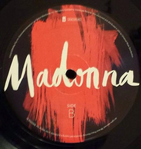 madonna rebel heart deluxe 2 lp (vinilo) original nuevo