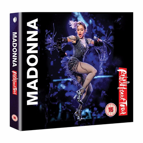 madonna rebel heart tour cd+ dvd nuevo importado en stock