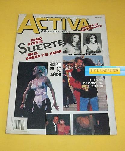 madonna revista activa 1990 veronica castro lucia mendez