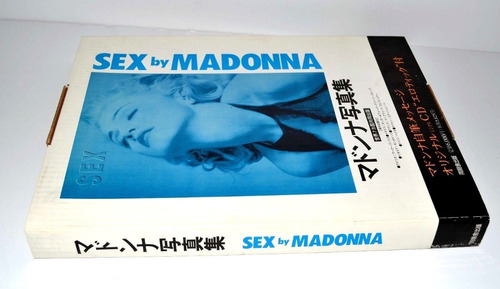 madonna -  sex book japonés edición 1992