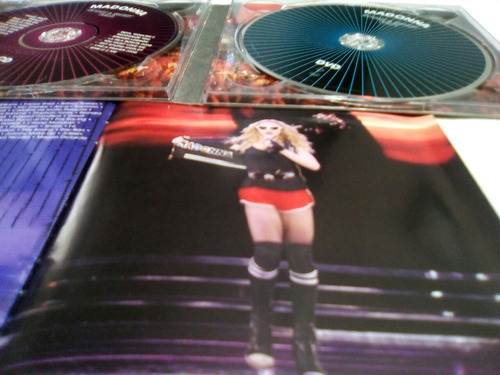 madonna sticky&sweet tour cd/dvd (live buenos aires).