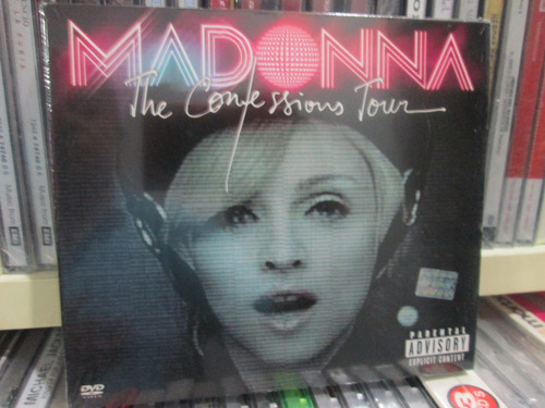 madonna - the confessions tour cd + dvd nuevo importado