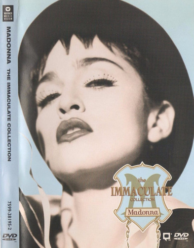 madonna - the immaculate collection (1990) dvd original