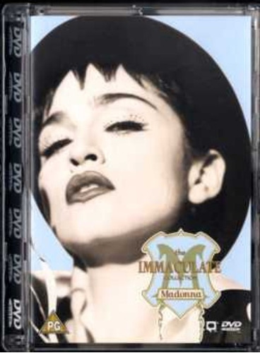 madonna the immaculate collection dvd