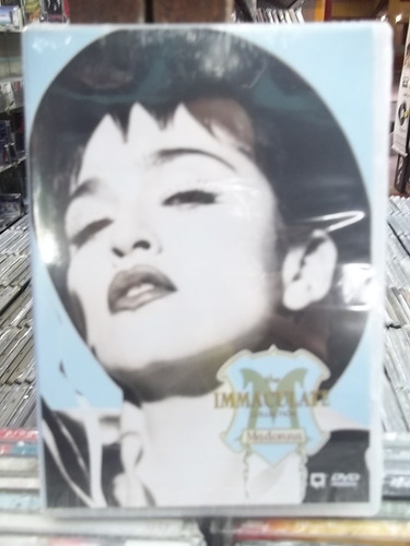 madonna the immaculate collection dvd novo lacrado frete 15,
