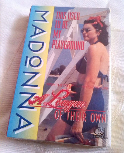 madonna this used to be my playgrnd single cassette original