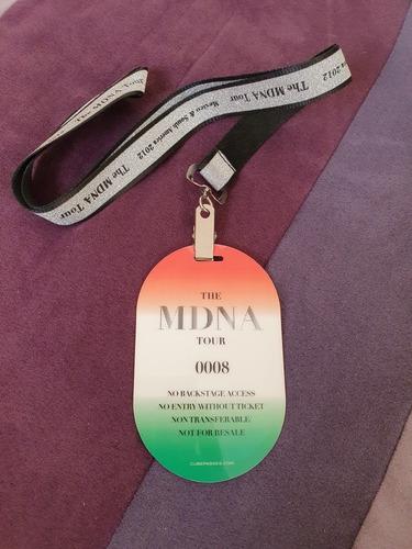 madonna tour 2012 mex para coleccionistas!!