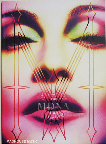 madonna - tour book mdna