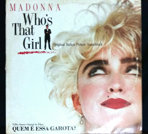 madonna  who's that girl  banda sonora/vinilo dj intru mix.