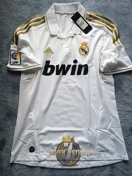 Real Madrid 11-12 Jersey 100% Oficial bfdf1d24dea00