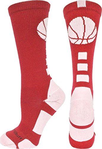 madsportsstuff calcetines de atletismo de logotipo de balon