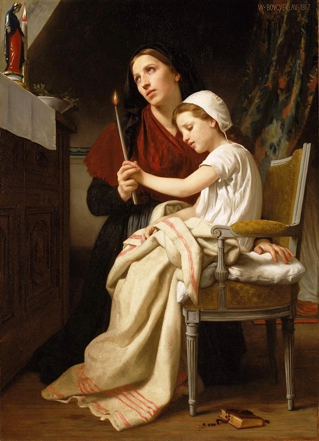 Resultado de imagem para mãe rezando
