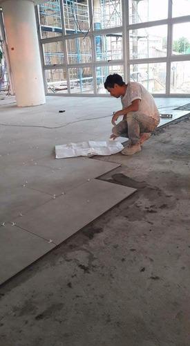 maestro ceramista y construccion en obras menores