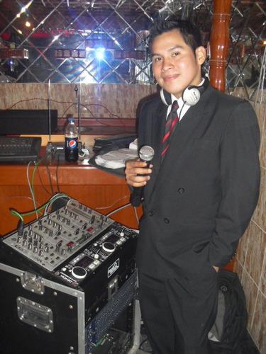 maestro de ceremonias dj animador