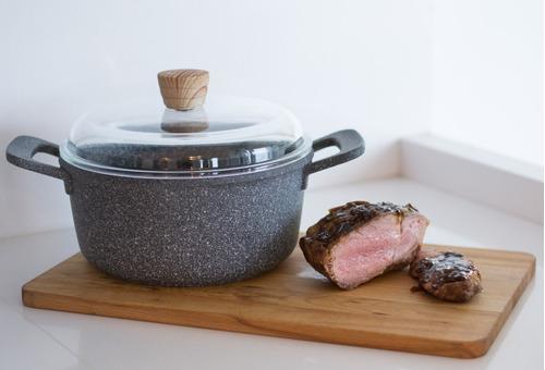 maestro de cocina cacerola premium antiadherente 20cm