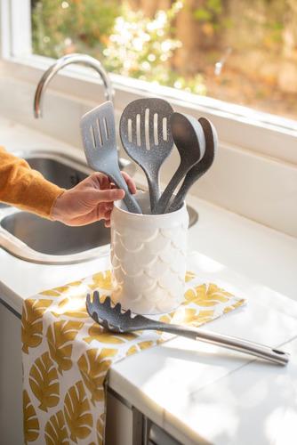 maestro de cocina - set de 5 utensilios de granito