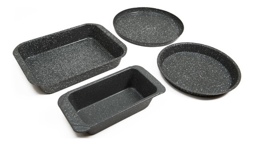 maestro de cocina-set granitox4 accesorios horno antiadhente