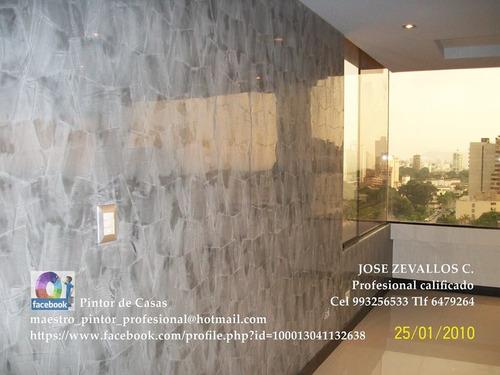 maestro decorador 993256533 pintor de casas. srv. asesoria.