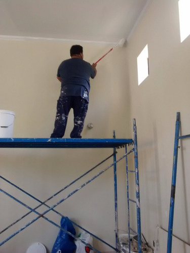 maestro pintor deptos oficinas fachada piso flotante