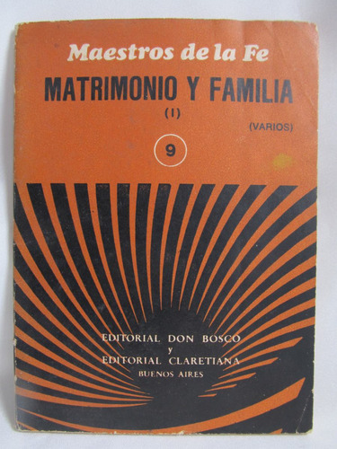 maestros de la fe matrimonio y familia 1 nro 9