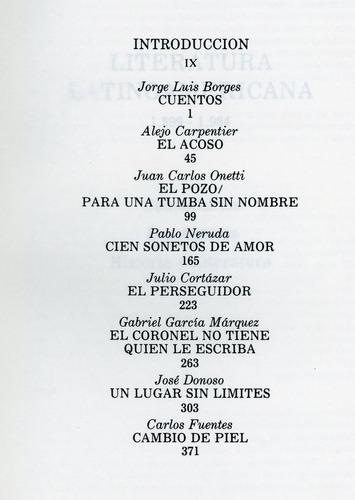 maestros de la literatura universal. latinoamérica.