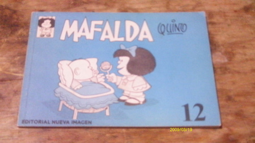 mafalda 12 , año 1977 , quino